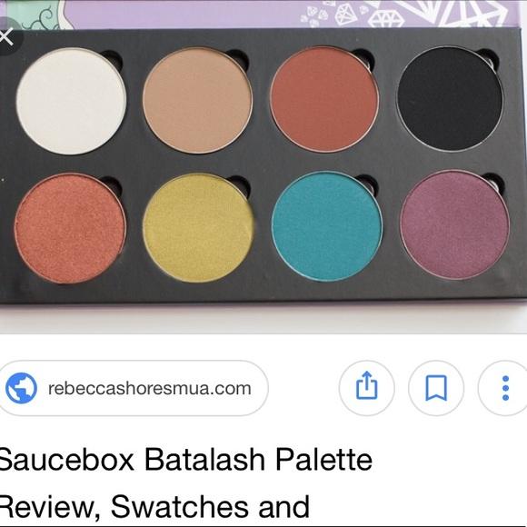 Batalash for Saucebox Palette - LIMITED EDITION NWT
